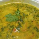 moong dal with palak recipe